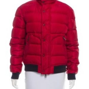 Burberry Jackets & Coats - Burberry Brit Quilted Down Coat (Red)